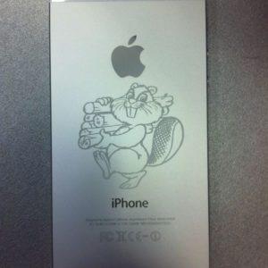 Гравировка на IPhone 5