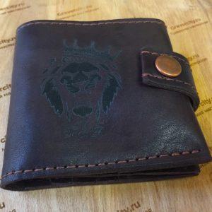 Гравировка на портмоне