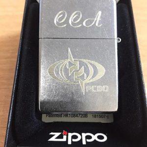 Зажигалка Zippo, гравировка инициалов и логотипа