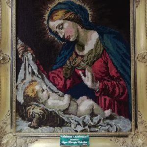 Табличка для музейной картины, мраморная латунь