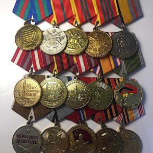 Орденские колодки для медалей номер 5